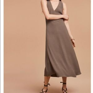 Wilfred cataphore dress sz 2 in taupe